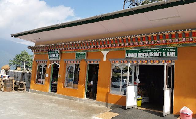 Lhamu restaurant Gedu