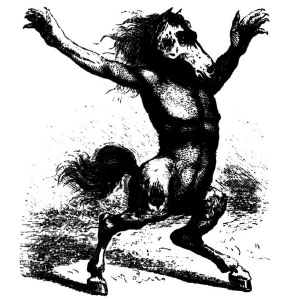 Goetia - Orobas (Illustration)