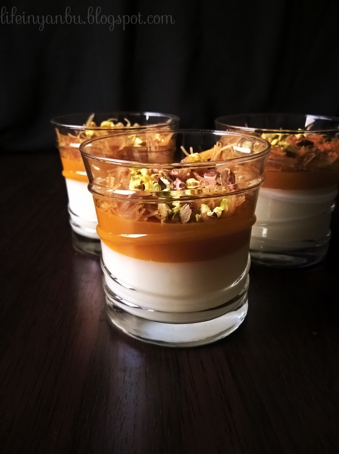 Muhallabia Amardeen Pudding | Milk and Apricot Fruit Leather Pudding