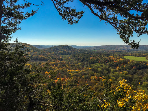 Overlook at Wildcat Mountain State Park in Ontario WI
