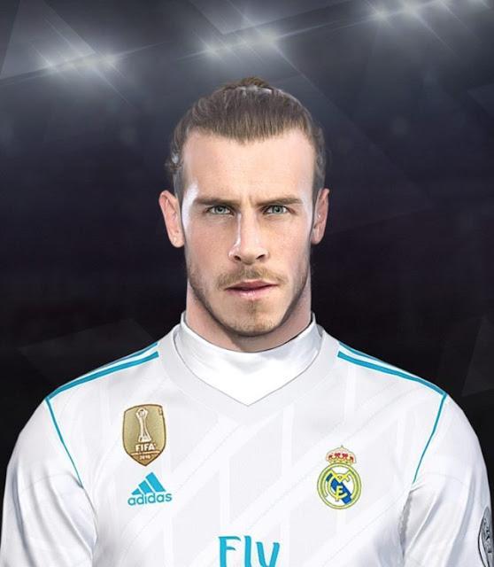 Gareth Bale Face PES 2018