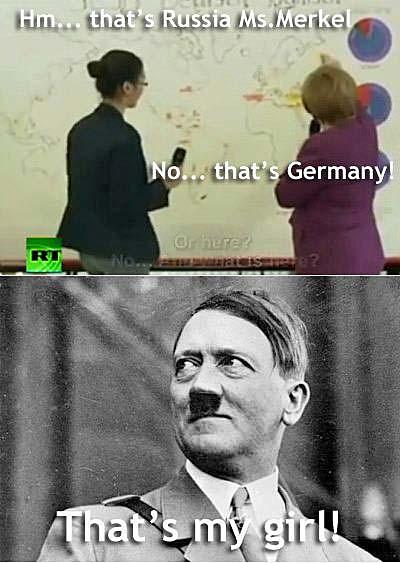 Lustige Bilder Angela Merkel Hitler