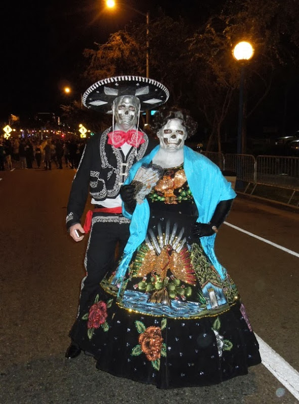 Dia de los Muertos costumes West Hollywood Halloween