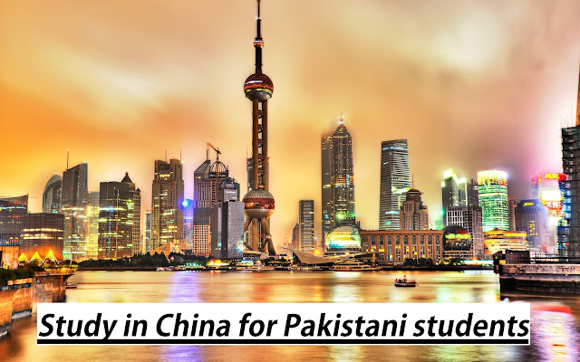 study in china from Pakistan
