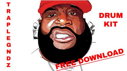 Old Rick Ross, Gucci Mane Type Trap Drum Kit Free Give Away