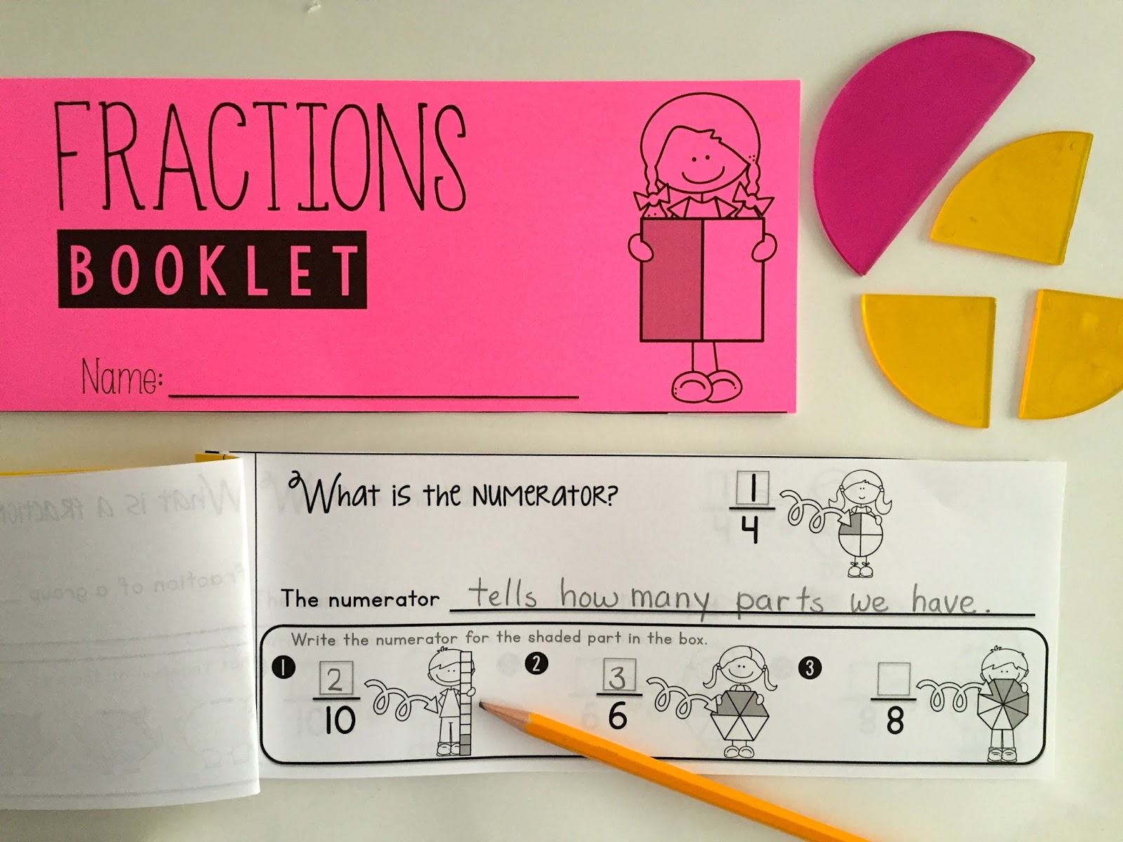 Whos who and whos new fraction fun some freebies fractions booklet maxwellsz
