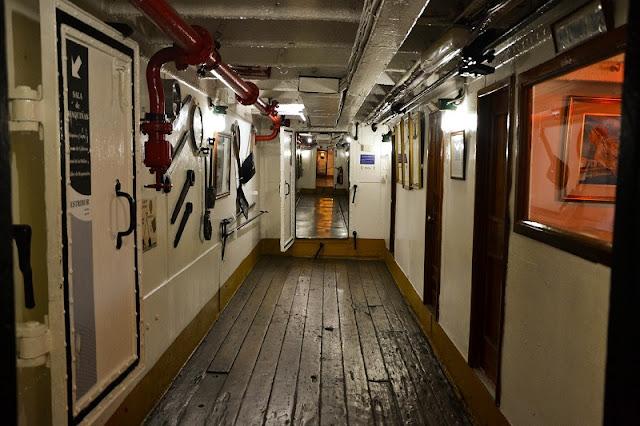 O que ver no Barco Museu Fragata Sarmiento