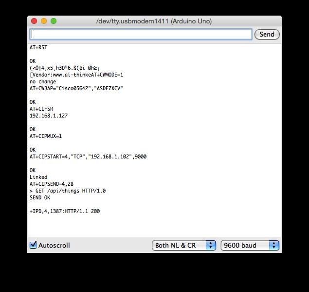 Arduino dirt cheap wifi solution -- ESP8266 (arduino code call http