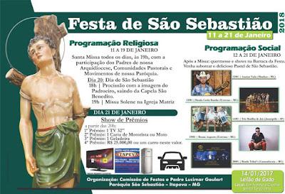 Festa de São Sebastião Itapeva
