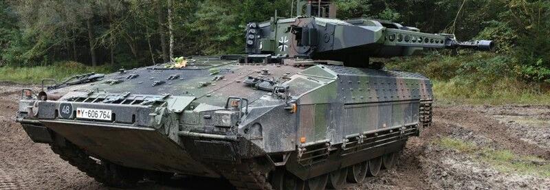Rheinmetall поставить німецькій армії лазерні імітатори бою для БМП Puma