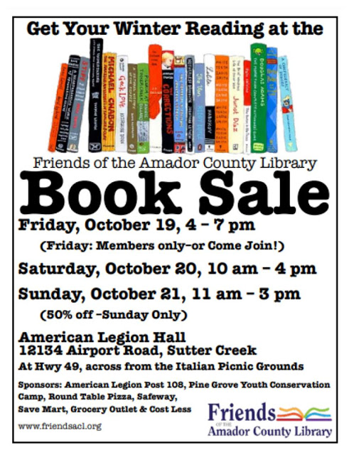 FACL Book Sale - Oct 19-21