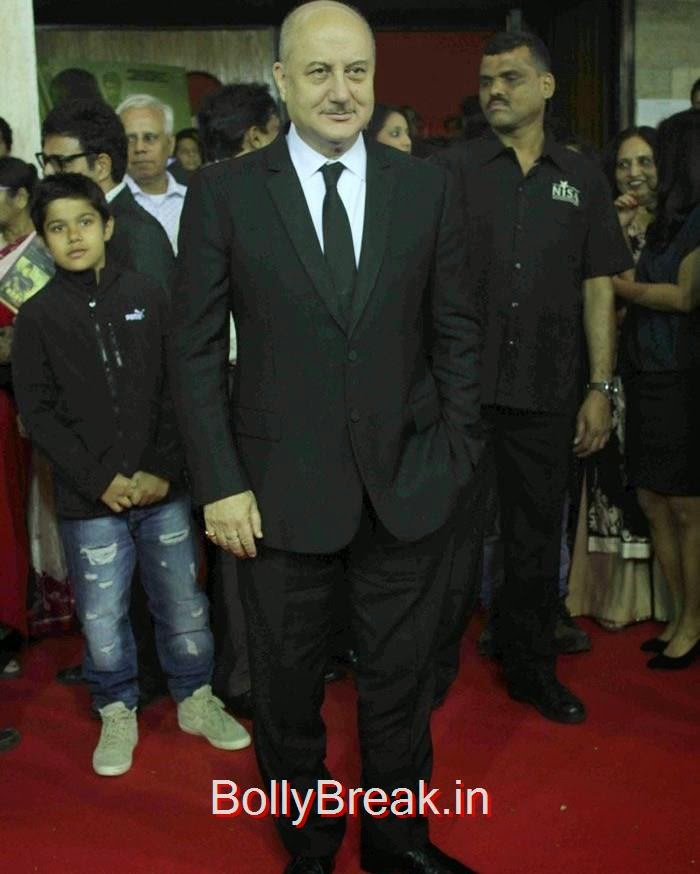 Anupam Kher, Celebs at Grand Premiere of 'BABY' Organised by Osianama