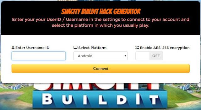 SimCity BuildIt Hack Generator