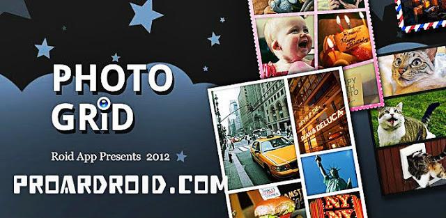 تطبيق PhotoGrid - Photo Collage v6.93 لتعديل الصور للأندرويد النسخة المدفوعة logo