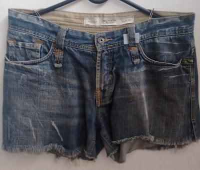 short jeans M.Officer tamanho 42