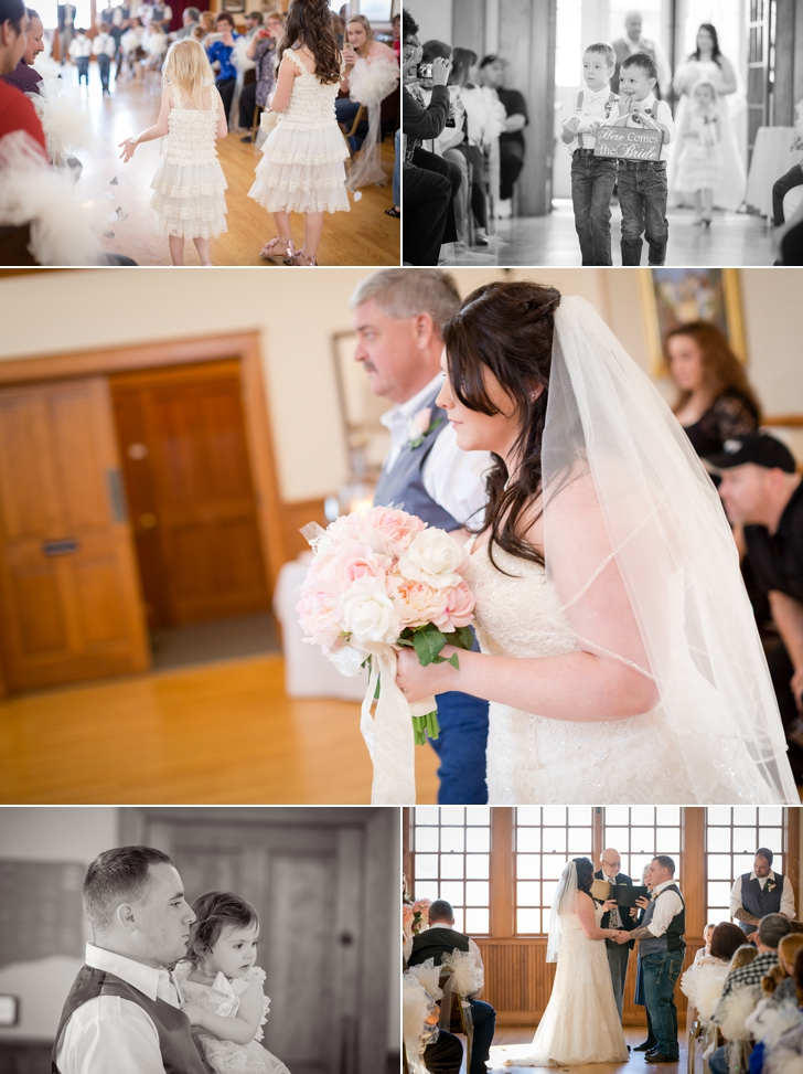 Historic Steilacoom Town Hall Wedding | | Samantha + Chace