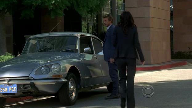 L'automobile dans les films et les séries: Mentalist (2008 - )