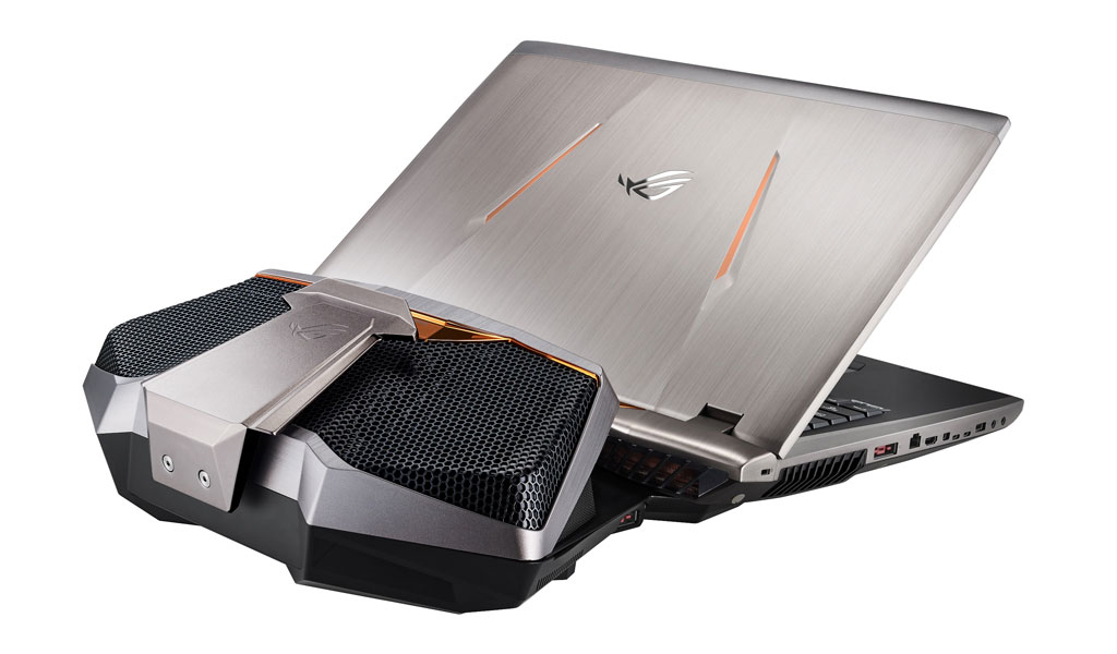 ASUS ROG GX800 with the GX800VH Liquid Cooling Docking
