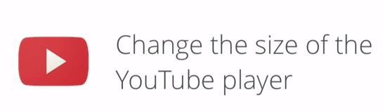 Video Youtube adaptable