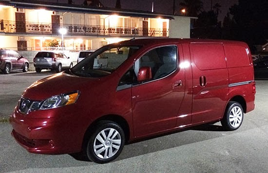 I Auto Car Nissan Nv200 Cargo Test Drive