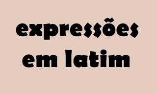 expressões latinas, dicionário