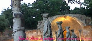 ROMA pontos turisticos VILLA ADRIANA - Pontos turísticos de Roma