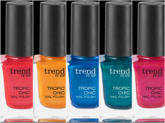 trend IT UP  Tropic Chic Nail Polish, Neue Theke