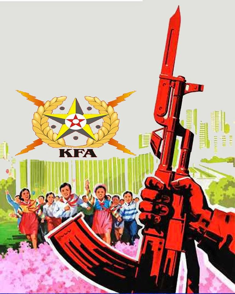 Image result for No to war exercises in Korea