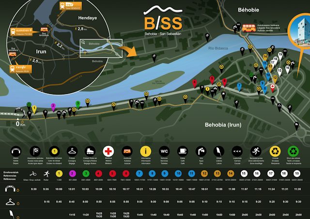 Mapa de la salida BSS52