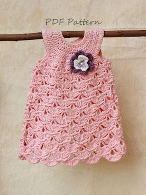 orgu bebek elbise modelleri