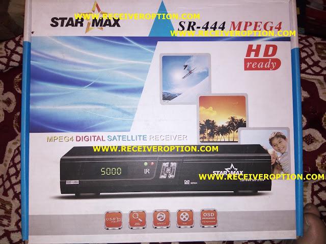 STAR MAX SR-444 MPEG4 RECEIVER BISS KEY OPTION
