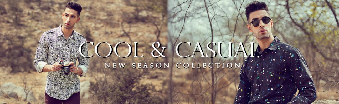 Cool & Casual New Season Collection