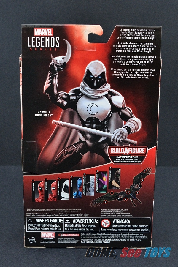 Come, See Toys: Marvel Legends Series Moon Knight (Vulture ...