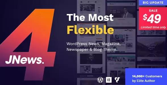 JNews v4.0.2 - WordPress Newspaper Magazine Blog AMP Theme