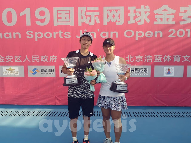 Beatrice Gumulya/Xiaodi You Juara ITF 60k Luan, China