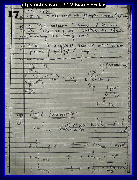SN2 Biomolecular Org Notes6