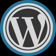 wprdpress button outline