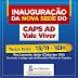 SAJ: Prefeitura inaugura nova sede do CAPS AD Vale Viver na próxima terça (13