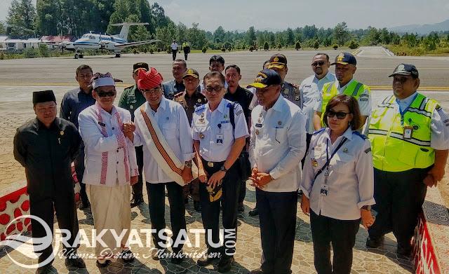 Kunjungi BBK, Menteri Perhubungan : Saya Diminta Presiden Jokowi untuk Kawal Toraja