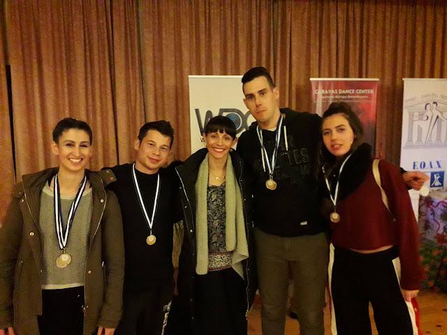 4 χρυσά μετάλλια στον Πανελλήνιο Διαγωνισμό Χορού κατέκτησε η Αργολική Σχολή Χορού Μπαβέλα Μαρία