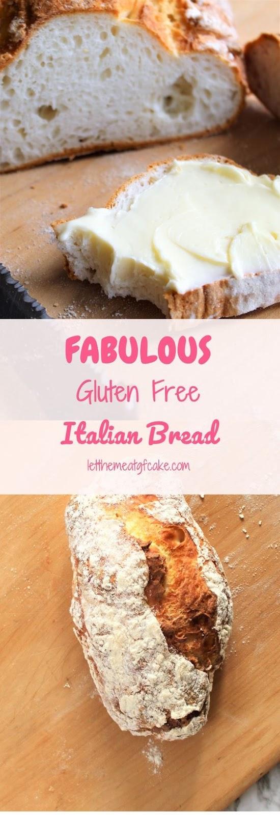 Fabulous Gluten Free Italian Bread