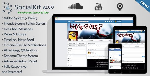 SocialKit v2.0.0 – Social Networking Platform