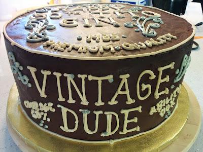 Gin S Vintage Dude Cake