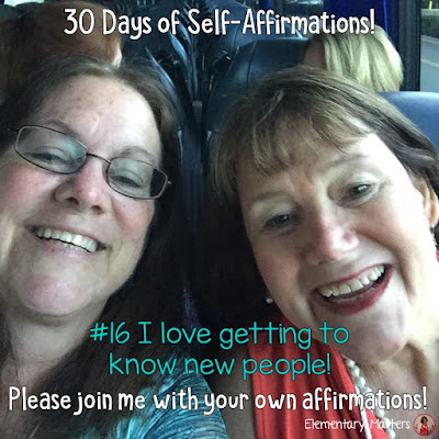 """30 Days of Self-Affirmations: Day 16: I love getting to know new people! For 30 days, I will be celebrating my own """"new year"""" with self-affirmations. If you are interested in joining me, feel free to  write your own affirmations here, or  respond on my social media here: http://bit.ly/2l9Sofe"""