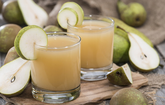 Best Juices To Treat Constipation - Pear Juice For Constipation