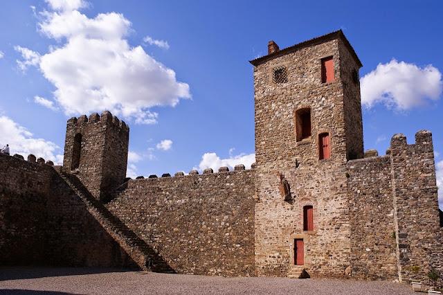 Torre da Princesa no Castelo de Bragança