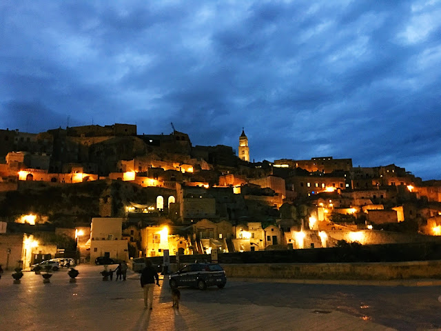 Matera-at-Night
