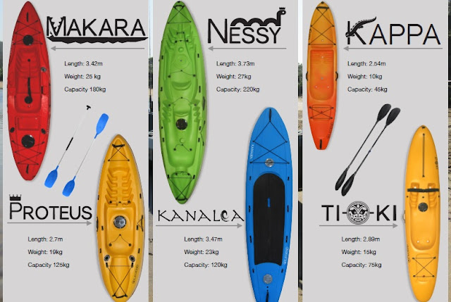 Legend Kayaks Range