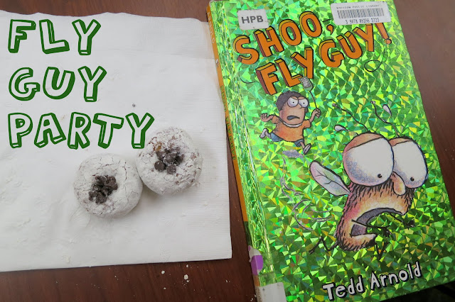 http://librarymakers.blogspot.com/2013/06/first-chapter-book-club-fly-guy.html