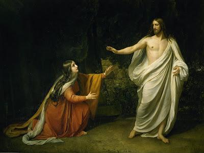 Imagem da aparição de Jesus Cristo a Maria Madalena após a Ressurreição, pintura, #1